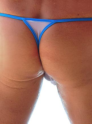 Soaking wet sheer micro bikinis - 2 5